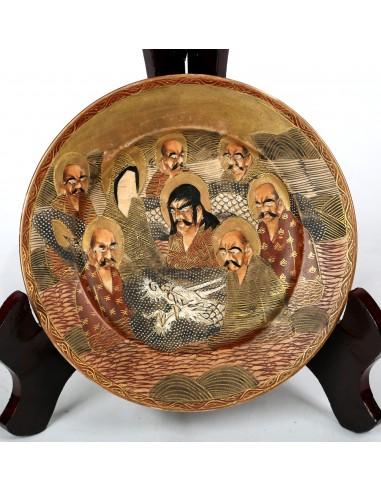 Plato de porcelana japonesa.