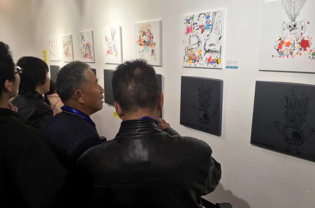 Xavi Carbonell presenta su obra en la NFTZ International Culture ART Museum