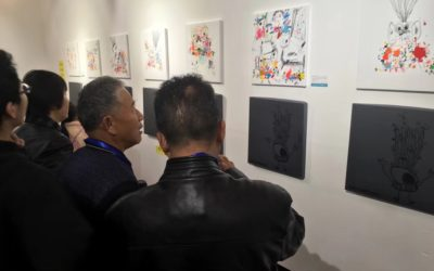 Xavi Carbonell presenta su obra en la NFTZ International Culture ART Museum
