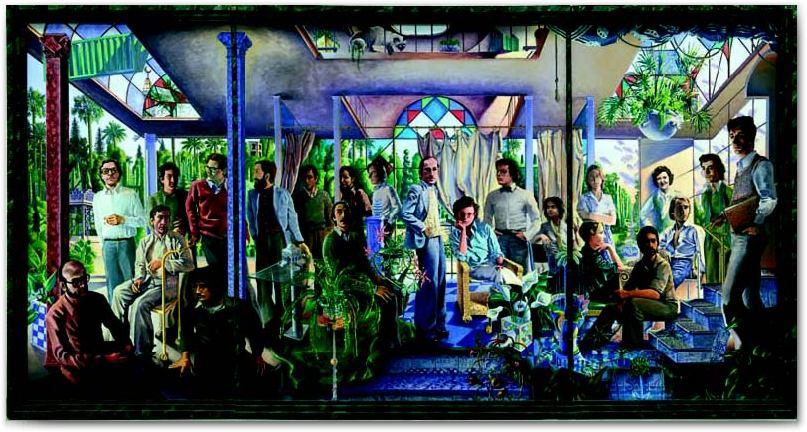 Pintura Contemporánea madrileña de los 70
